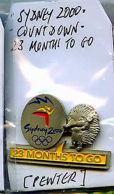 Sydney 2000 Olympic Games Australia.-Collectable Pin On Card..