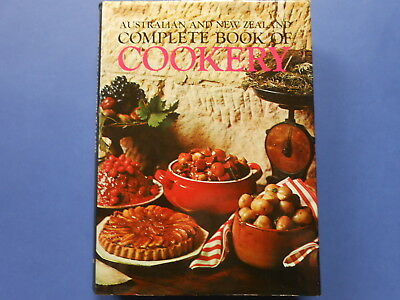 AUSTRALIAN and NEW ZEALAND COMPLETE BOOK OF COOKERY - ANNE MARSHALL **LIKE NEW