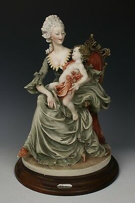 "Rare Giuseppe Armani Figurine ""Lady and Child"" WorldWide"
