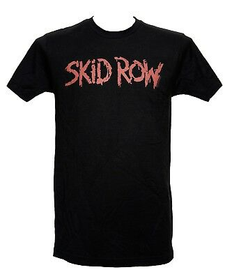 SKID ROW - RED LOGO - Official Licensed T-Shirt - New M L XL
