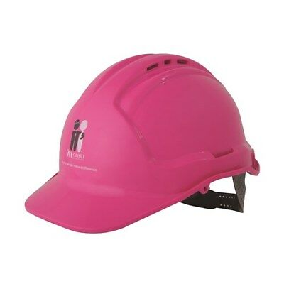 Pink McGrath Foundation Hard Hat