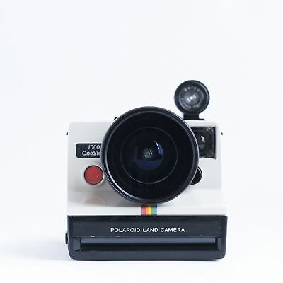 Polaroid Land 1000 OneStep FISH EYE modification