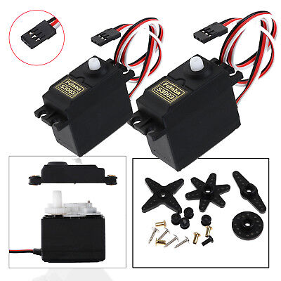 2x S3003 Futaba Standard Servo Analog High Speed & Torque für RC Auto Helikopter