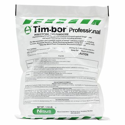 1.5 LBS. Professional Insecticide Fungicide Protect Woods from Termites & Rot