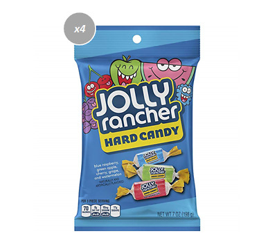 908285 6 x 198g JOLLY RANCHER HARD CANDY IN FIVE ORIGINAL FRUITY FLAVOURS! USA