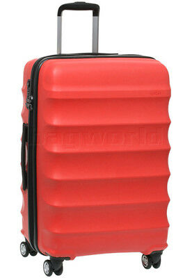 Antler Juno Medium 68cm Hardside Suitcase Red 34923