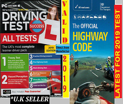 Driving Theory Test & Hazard + Highway Code Book atpHw