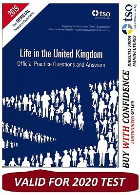 Life in the UK United Kingdom Official Practice Questions and Answers bk 2020 QA