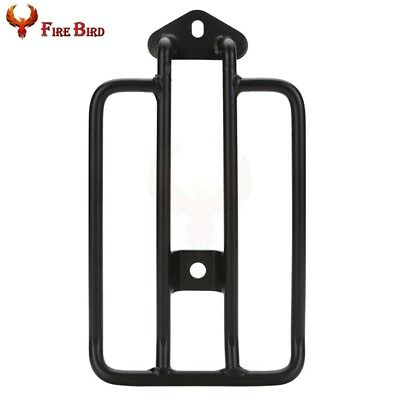 For Harley Sportster XL 883 1200 2004-2015 Luggage Rack Stock Solo Seat Black