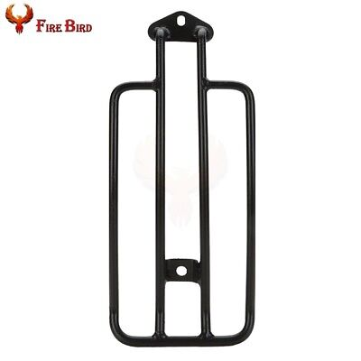 Black Motorcycle Solo Seat Luggage Rack For Harley 1985-2003 Sportster 883 1200