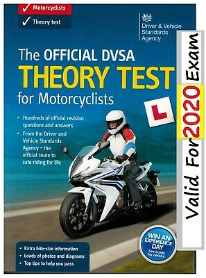 The Official DSA Theory Test for Motorcycle 2019 Book Motorbike DVLA DVSA MTrBK
