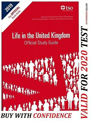 New Life in the UK Citizenship Test The Official Study Guide 2018 Book std