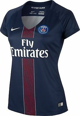 Brand New Genuine Paris Saint Germain 2016/17 Home Shirt Womens PSG Size UK 14 L