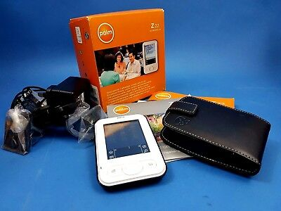 Palm Z22 Handheld PDA 200MHz OS 5.4 32MB IrDA (1048NA) with Case + Power Adapter