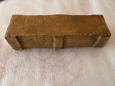 Antique Ottoman 19c Massive Bronze Balance Scale Weight 1 OKA thugra seal