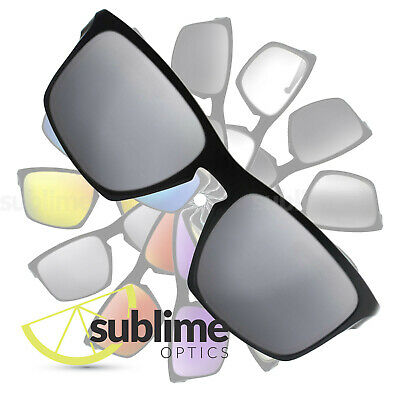 df7ce0d8fc POLARIZED Metallic Silver Mirror Replacement Lenses for Oakley Sliver XL  OO9341