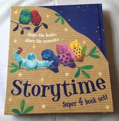 Storytime - Super 4 Book Set (2014) New and Sealed - Christmas present, Books