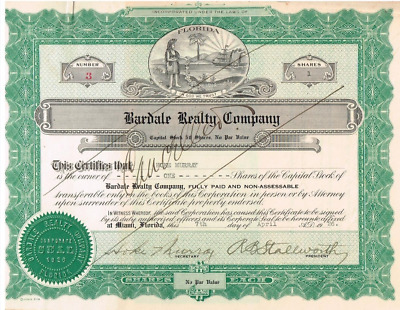 Bardale Realty Company 1926 ......... SELTEN ........