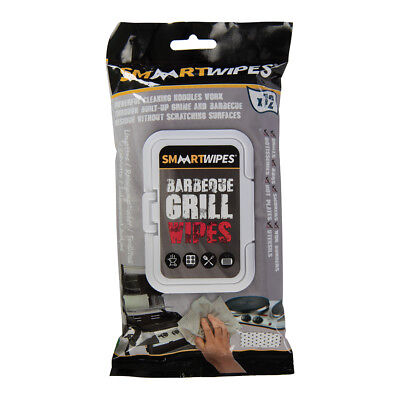 SMAART Barbecue Grill Cleaning Wipes 12 pack