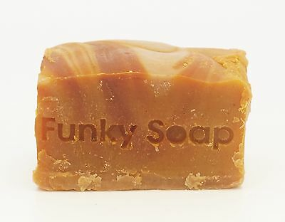 1 piece Marula (Africa's Miracle Oil) Soap, 100% Natural Handmade, 120g