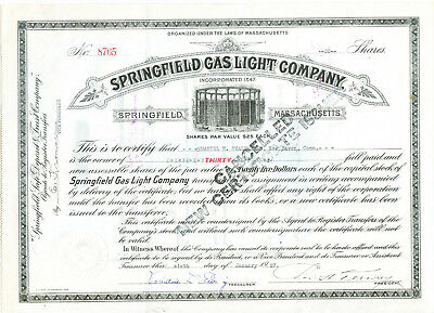 Springfield Gas Light 1925