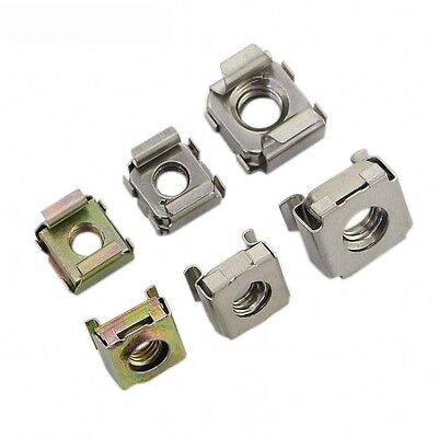 M5 Cage Nuts Cage Rack Nut Zinc Plated Carbon Steel