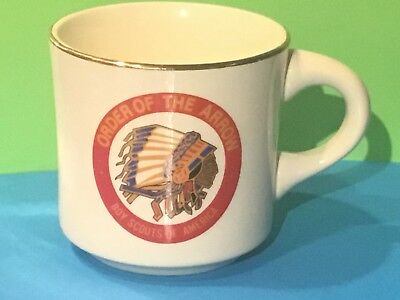 1971 National Order of the Arrow China Coffee Mug--Bought at O.A. National Conf