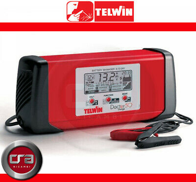 Telwin Doctor Charge 50 6/12/24V Caricabatterie Mantenitore Di Carica