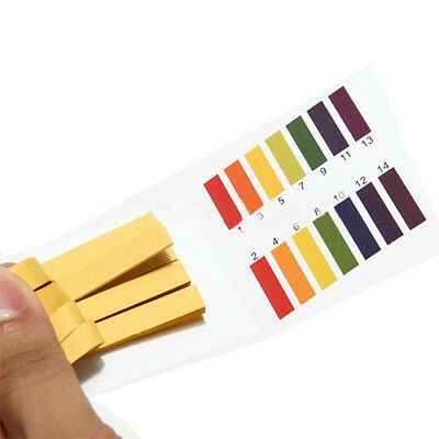 Amazing 80 Strips PH Test Strip 1-14 Acid Alkaline Range Full Paper Litmus