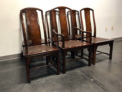 Cool Vintage Henredon Asian Chinoiserie Dining Chairs W Cane Ocoug Best Dining Table And Chair Ideas Images Ocougorg