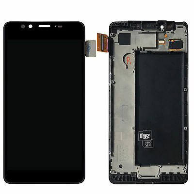 For NOKIA LUMIA 950 LCD Display Digitizer Glass Touch Screen Assembly With Frame