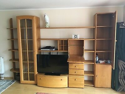 wohnzimmerschrank eur 1 00 picclick de. Black Bedroom Furniture Sets. Home Design Ideas
