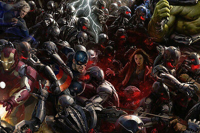HD Canvas print Home decor Art Wall Painting Marvel's Avengers NO Frame 20 Fj63