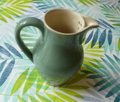 Denby*Stoneware*Green*Jug*Pottery*Cream/Milk*
