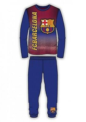 Boys Authentic Official Barcelona Everton FC Pyjamas Cuffed Pyjamas Age 4-12Y