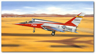 AB to go, Stick on the Sided by Mike Machat - North American F-107A