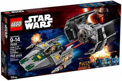 BRAND NEW LEGO 75150 Vader's TIE Advanced vs. A-Wing Starfighter STAR WARS