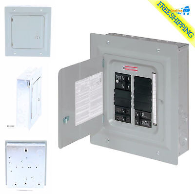 Eaton 100-Amp 10-Spc 20-Circuit Garage Home Indoor Small Main-Breaker-Box Panel
