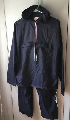 Vintage WOMENS TOPHER Nylon Track Suit Athletic jacket pants zipper Small