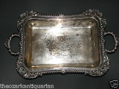 Sheffield Silver William Henry Law England 1876 Georgian footed serving dish hvy