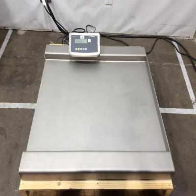 Sartorius Roll On CART SCALE 300kg (662lbs) 0.01 kg HIGH Accuracy Floor Scale