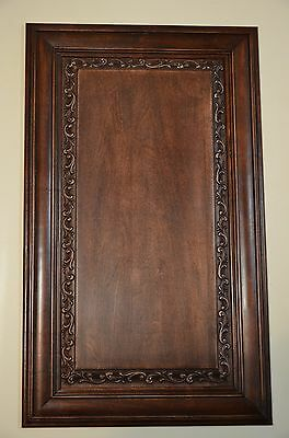 Solid wood Cabinet Door Carved Raised Panel