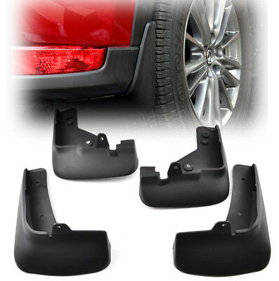 4PCS Front & Rear Splash Guards Mud Flaps Fit For Mazda CX-5 KF 2017 2018