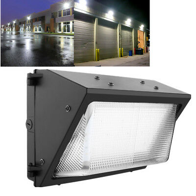 LED WALL PACK 60W Outdoor Lighting 5000K Daylight Industrial Commercial Lamp