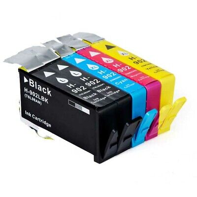 HIGH Yield 5 INK NON-OEM for HP 902XL OfficeJet 6954 6962 6968 6978 HP902XL