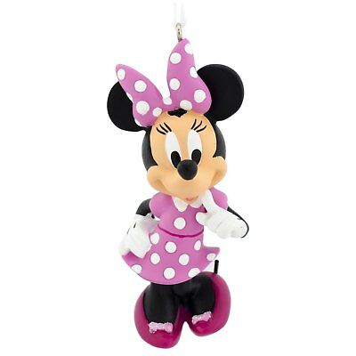 """Disney Mickey Mouse Minnie Mouse 3"""" Figure Doll Toy Christmas Holiday Ornament"""