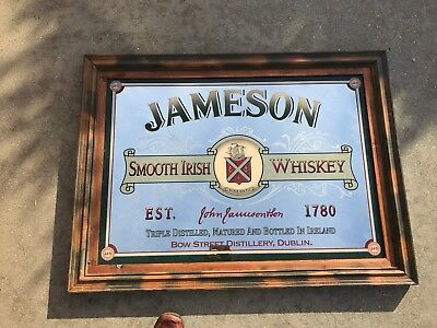 Jamison Irish Whiskey Mirror