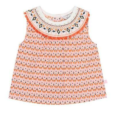 NEW Bebe Bebe Nora Print Yoke Blouse Babies Kids