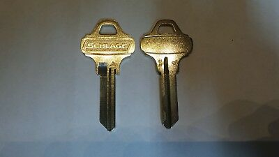 2  – SCHLAGE EVEREST C145 Key Blanks Locksmith.  NEW