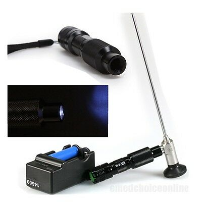 FDA Portable Handheld LED Cold Light Source Lamp Clear Endoscopy 3-10W Endoscope